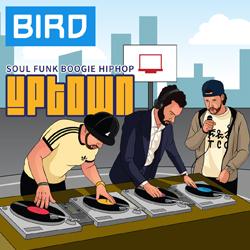 Uptown Flyer Illustratie